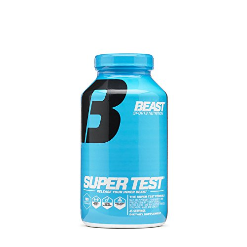 Beast Sports Nutrition, Super Test, Testosterone Support, 180 Capsules