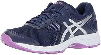 ASICS Womens Gel-Quickwalk 3 Walking Shoe, Indigo Blue/Silver/Violet, 7 Medium US