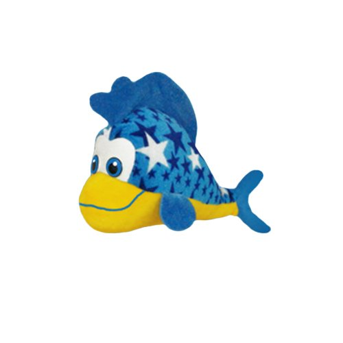 Random ToySource Nova The Fish 12 in Plush Collectible Toy Nova The Spotted Toad Plush Toy