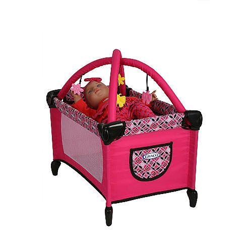 Graco Doll - Tolly Tots Graco Deluxe Playard