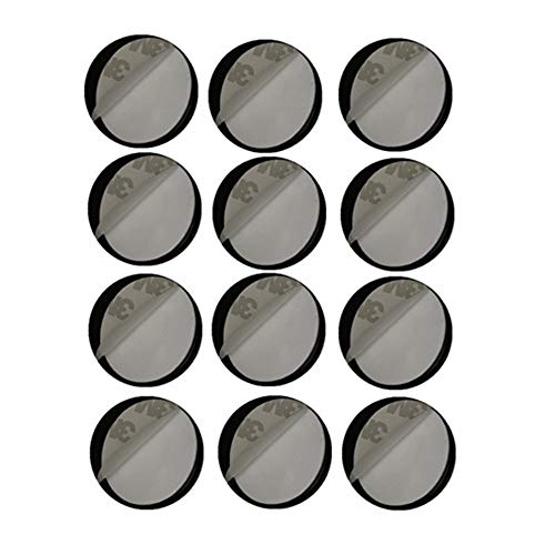 MeetRade Replacement Adhesive Stickers Pads For Expanding Stand And Grip12 pcs  Sticky Stickers Pads Disc For Cell Phone Stand Mount Holder Car Mount Hook