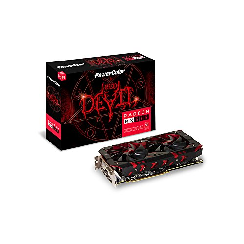 PowerColor VGA - AXRX 580 8GBD5-3DH/OC (Powercolor Red Dragon Radeon Rx 480 8gb)