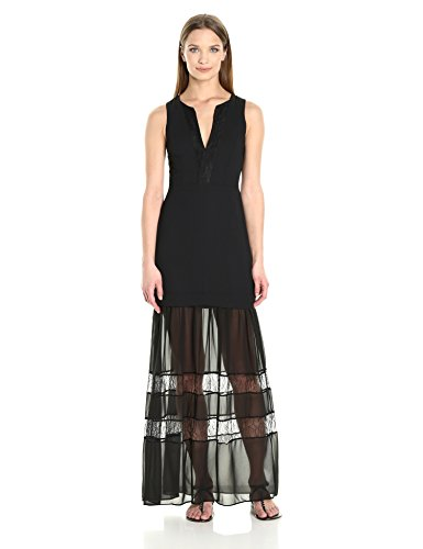 bcbgeneration long black dress - 2