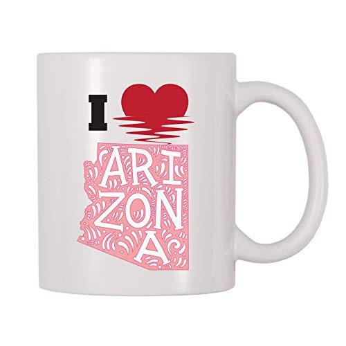 Coffee Tucson Mug - 4 All Times I Love Arizona Coffee Mug (11 oz)