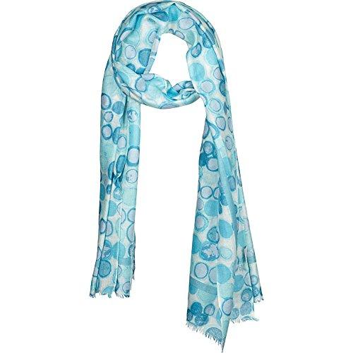kinross-cashmere-dot-print-scarf-aqua-multi