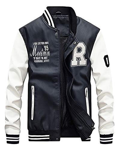Force Bomber Patches Jackets Bombers Baseball Cappotti Original Air Uomo Giacca Bianco wxnE8HIB