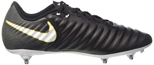 Nike Herren Tiempo Ligera Iv Sg Fußballschuhe, Schwarz Schwarz (Black/white-black-metallic Vivid Gold)