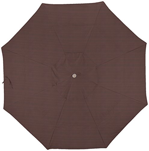 - California Umbrella Replacement Canopy Cover in Terrace Adobe Olefin Umbrella, 11' Round