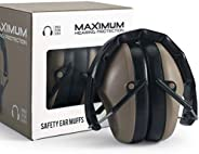 Pro For Sho 34dB Shooting Ear Protection - Special Designed Ear Muffs Lighter Weight & Maximum Hearing Pro