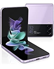 SAMSUNG Galaxy Z Flip 3 5G Factory Unlocked Android Cell Phone US Version Smartphone Flex Mode Intuitive Camera Compact 128GB Storage US Warranty, Lavender