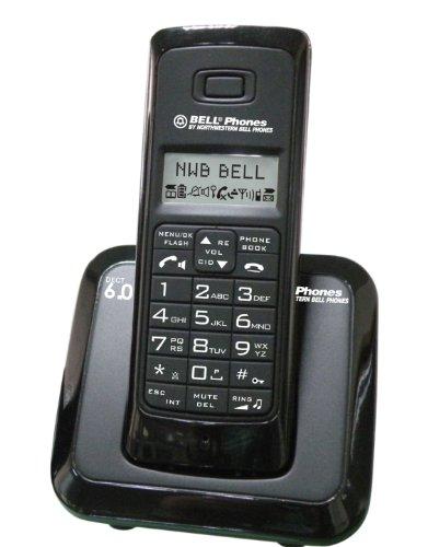 Unical Enterprises Northwestern Bell Phones 31331-4 DECT 6.0 1-Handset Landline Telephone (Dect 6.0 Handset One)