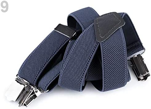 1pc 9 Jeans Blue Children Trouser Bracers/Suspenders Y-Back Braces for Kids and Other Accessories Fashion