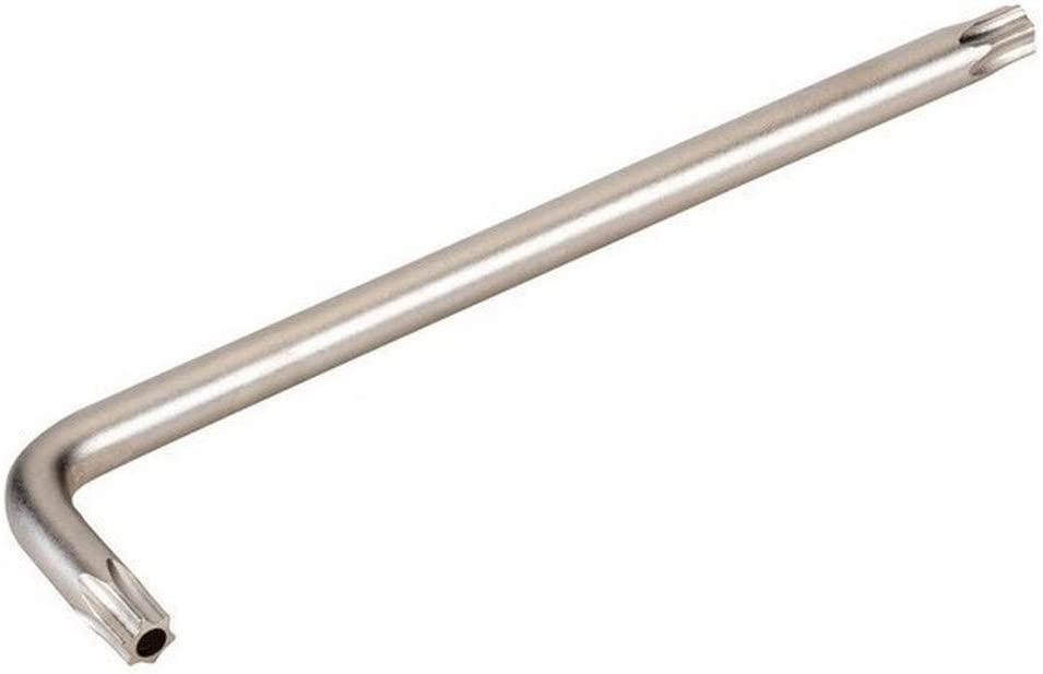 Gris /Cl/é Torx coud/ée inviolable CR-V nickel/ée T-8 Alyco 194008/