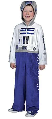 Chewbacca Costume Review (Princess Paradise Classic Star Wars Premium R2-D2 Jumpsuit, White/Blue, Medium)