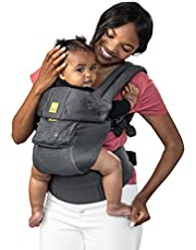 Lillebaby Baby Carrier (Complete Airflow 3D Mesh), Charcoal