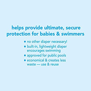 i play  Snap Reusable Absorbent Swimsuit Diaper for 6 to 12