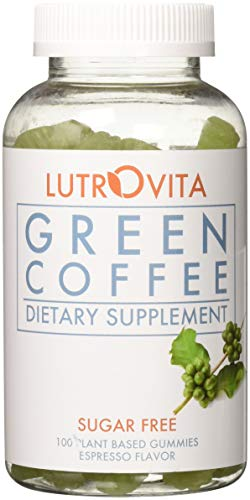 Lutrovita Sugar Free Green Coffee Gummy, Expresso, 100 Count by Lutrovita (Image #8)