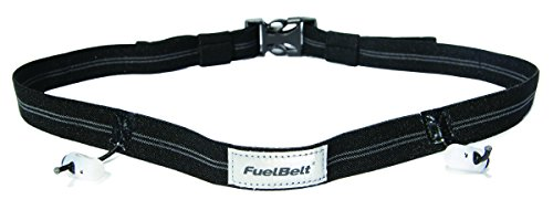 FuelBelt Reflective Race Number Belt, Black (Running Numbers compare prices)