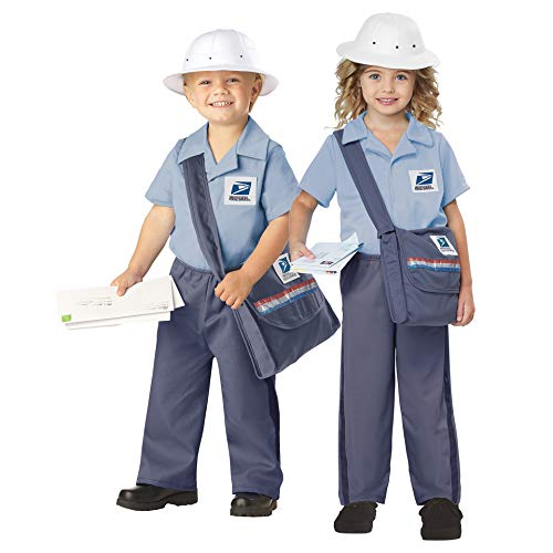 Toddler Postman Costume Blue]()