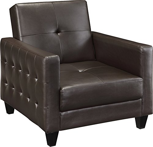 DHP Premium Rome Faux Leather Sofa Chair