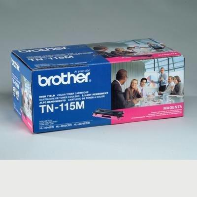 BRTTN115M - Brother TN115M High Yield Magenta Toner Cartridge