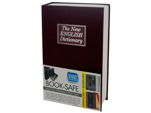Hidden Dictionary Book Safe, Case of 3