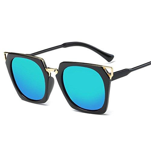 146 de A de m de coloridas NIFG las 135 manera Gafas gato 53m ojo del de de cuadrada la sol gafas sol U187w8Aq