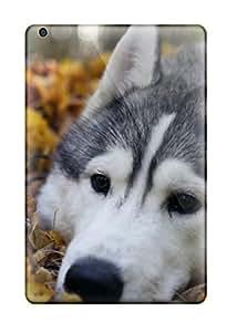 Awesome Siberian Husky Flip Case With Fashion Design For Ipad Mini/mini 2