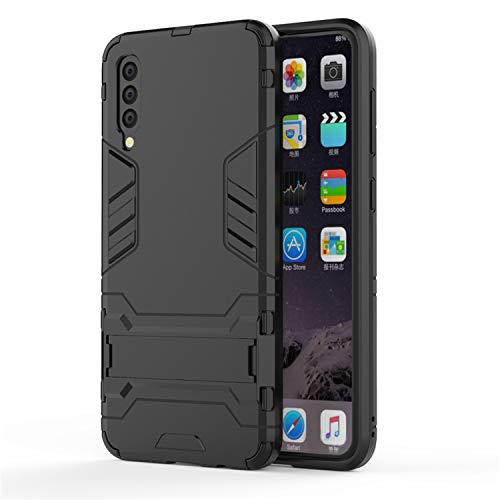 for Cover Samsung Galaxy A50 Case Shockproof Hybrid Armor Phone Case for Samsung Galaxy A50 A505F/DS Cover Case for Samsung A50,DarkBlack,for Samsung A40