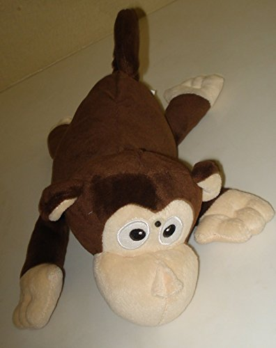 Jumpin Banana Monkey Laughs and Rolls Over and Over - 13 Inches