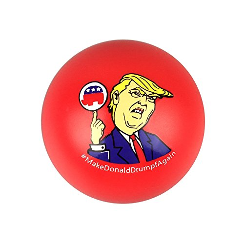Donald Trump Merchandise Stress Ball (Pack of 4) - Make Donald Drumpf Again, Make America Stress Free Again, 2016 President, Make America Great Again, Gag Gift, Inauguration Day