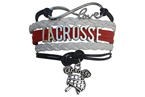 Infinity Collection Lacrosse Bracelet- Girls Lacrosse Bracelet- Lacrosse Jewelry For Lacrosse Players – Sports Center Store