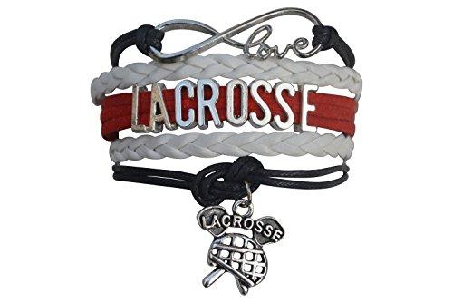 Infinity Collection Lacrosse Bracelet- Girls Lacrosse Bracelet- Lacrosse Jewelry For Lacrosse Players – DiZiSports Store