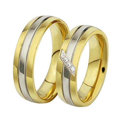 Princess Zelda Costume Crown (KnSam Men Wedding Bands Stainless Steel Oblique Line Gold Size 12)