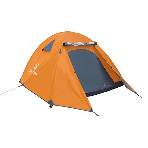 Winterial 3 Person Camping Tent + Gear Easy Setup Lightweight Camping and Backpacking 3 Season Tent, Compact, Camping tent, Family Tent by Winterial