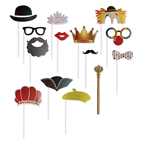 Purim Photo Booth Props - 14 Props (Purim Characters)