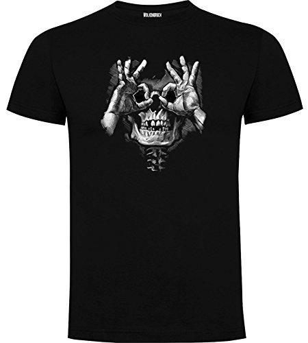 Wolkenbruch® T-Shirt Skull Hands Totenkopf Gr.M-XXXXXL