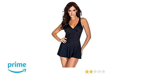 0efe31e1348c0 Miraclesuit DD-Cup Aurora Underwire Swimdress at Amazon Women's Clothing  store: