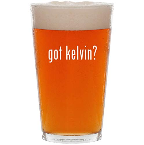 got kelvin? - 16oz Pint Beer Glass