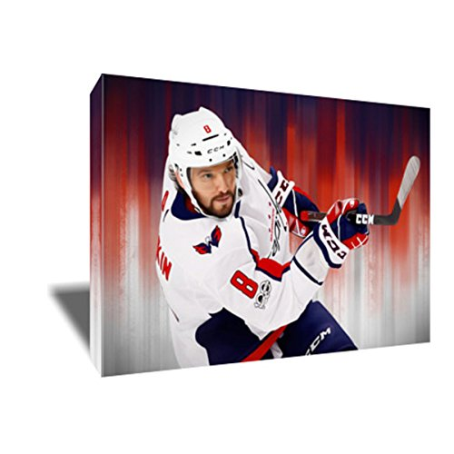 Scoring Machine ALEXANDER OVECHKIN Painting Poster Artwork on CANVAS ART Print (8x12 inches)