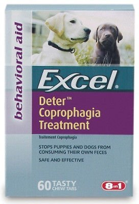 8 in 1 - Excel Deter Coprophagia Treatment - 60 Tablets