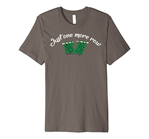 (Just One More Row Funny Sewing Yarn Knitting T-Shirt)