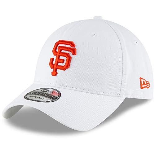 New Era San Francisco Giants 9TWENTY White 920 Adjustable Cotton Hat Cap