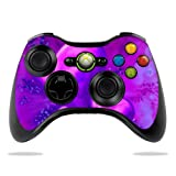 Protective Vinyl Skin Decal Cover for Microsoft Xbox 360 Controller wrap sticker skins Purple Heart