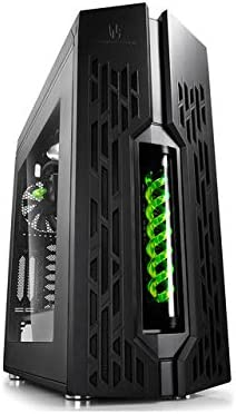 DeepCool Genome - GENOMEBK-GN - Caja PC con refrigeración líquida, Color Verde: Amazon.es: Informática