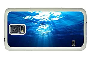 Hipster Samsung Galaxy S5 Case for cheap water sunlight PC White for Samsung S5