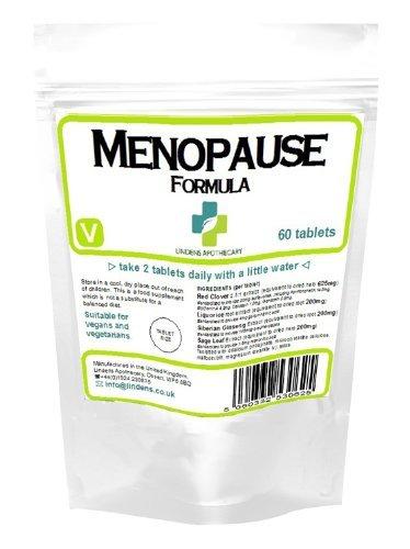 Menopausia Formula, Trébol Rojo, Regaliz, HOJA Salvia