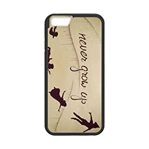 iPhone 6 Plus 5.5 Inch Cell Phone Case Black Peter Pan ikq