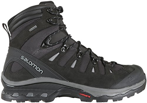 SALOMON QUEST 4D 3 GTX MEN'S HIKING BOOTS PHANTOM/BLACK/QUIET SHADE SZ 10.5