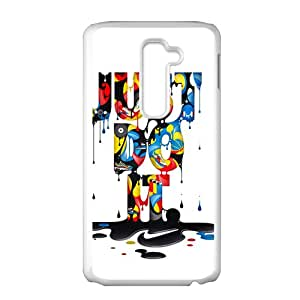 Watercolor Just Do IT New Style High Quality Comstom Protective case cover For LG G2